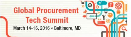 Nine Random Observations from the first Global Procurement Tech Summit