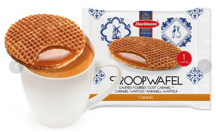 Stroopwafels and Asian-Style Snack Mix